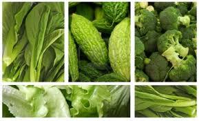 Groene groenten zijn erg doeltreffend tegen acné en andere veel voorkomende huidaandoeningen